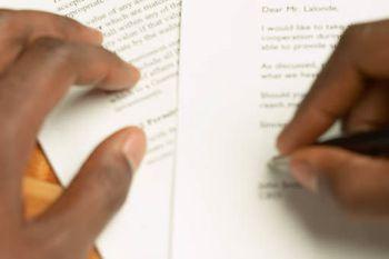 private Briefvorlagen und gratis Musterschreiben
