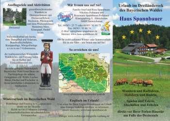 Ferienhaus im Dreiländereck Landkreis Freyung Grafenau - Mustertexte, Mustervorlagen