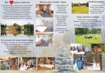 Hotel Urlaub - Seehotel im Bayerischen Wald - Mustertexte und Mustervorlagen