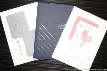 Karten Texte Danksagung zur Hochzeit Dankeskarten