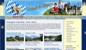 Bayern Reiseportal & Freizeitportal
