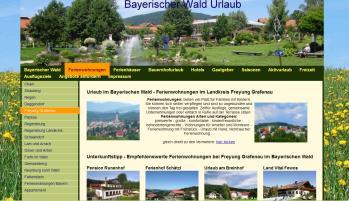 Urlaubsportal für Ferienwohnungen Pensionen Hotels Zimmer Ferienhäuser