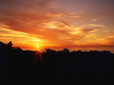 romantische-bilder-sonnenuntergang-urlaub-südafrika