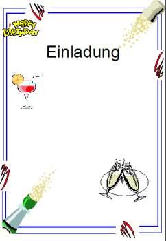 Text Einladungskarte Geburtstag / Kindergeburtstag Taufe, Hochzeit