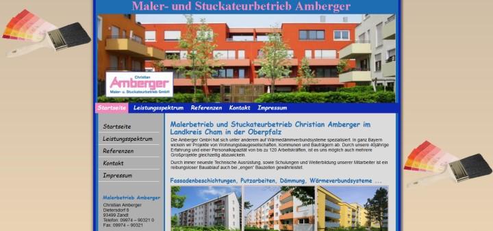 Malerfirma in CHam Malerbetrieb Amberger
